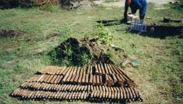 40 mm-es Bofors lőszerek