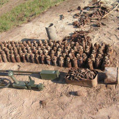 Győr, volt lőtéri terület lőszermentesítése