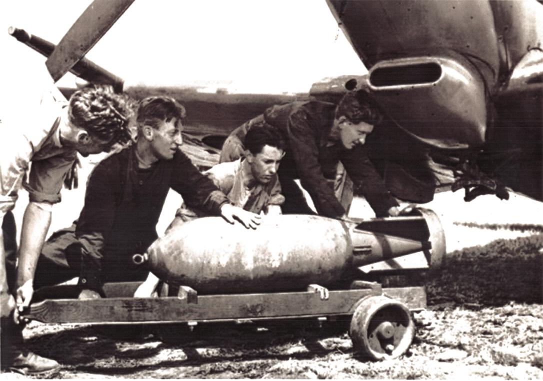 légibomba felkutatása